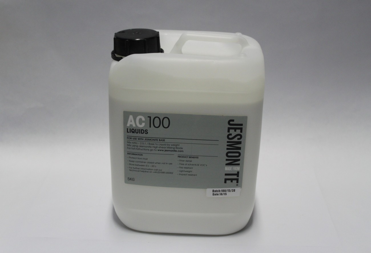 Jesmonite AC100 Water Based Acrylic LIQUID ONLY